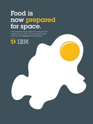 IBM: Outcomes food | Ads of the World™ — Designspiration