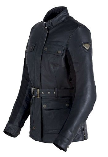 Giacca pelle triumph stockwell