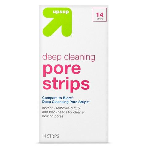 Pore Cleansing Strips 14 ct - up & up™. Cheaper and works better than Biore nose strips.