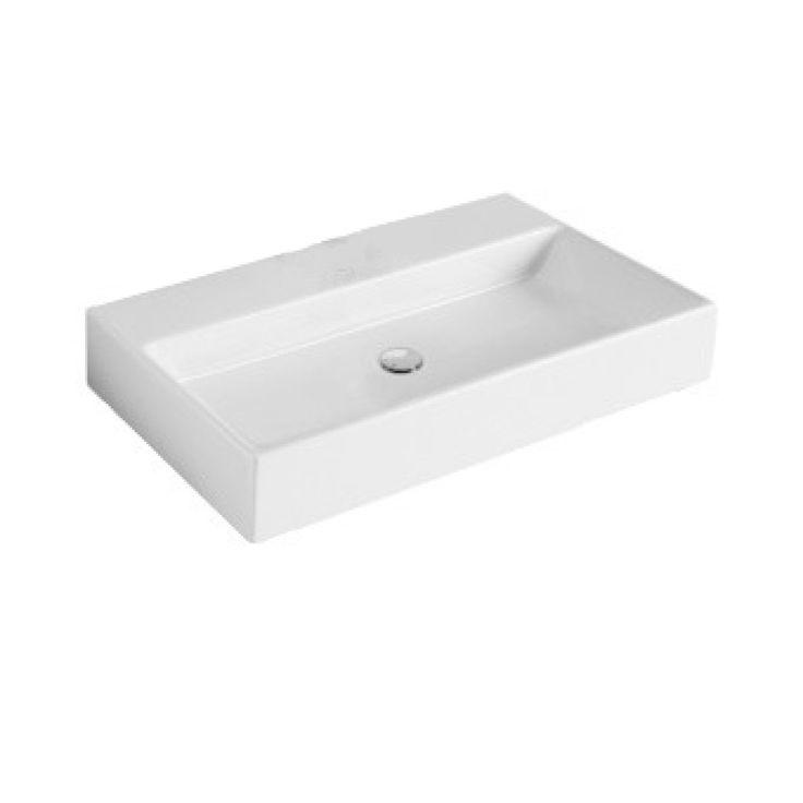 Villeroy en Boch Memento wastafel voor handdoekhouders 120x47cm met overloop wit - 5133C6R1 - Sanitairwinkel.nl