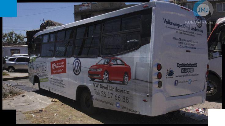 Rotulación de Camión para VW Divol Lindavista