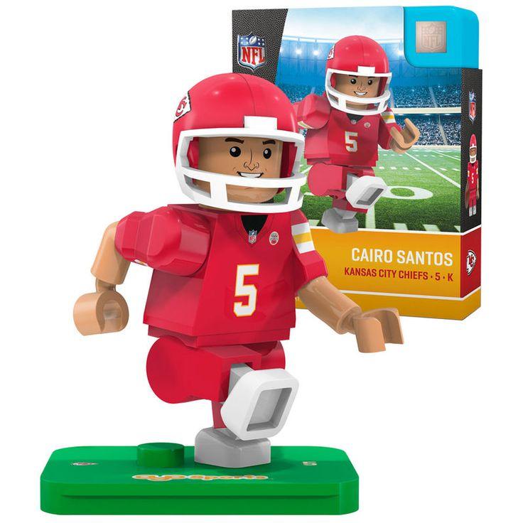 Cairo Santos Kansas City Chiefs OYO Sports Generation 5 Player Minifigure