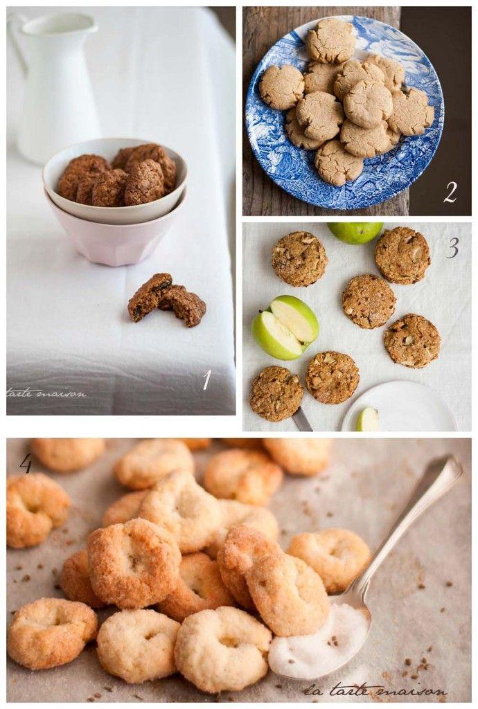 Biscotti per le vacanze! by La tarte maison #cookies