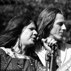 Janis Joplin and James Gurley, Big Brother and the Holding Company.