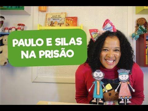 Paulo E Silas Na Prisao Youtube Prisao Aula Infantil