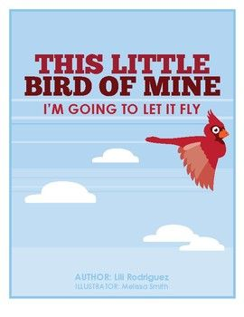 An adorable book about different color birds flying around the earth. **This story can be read or sang to the tune: This Little Light of Mine. Promotes: Color recognition. Sequence of event. Addition and subtraction. Counting birds one by one. Bright color