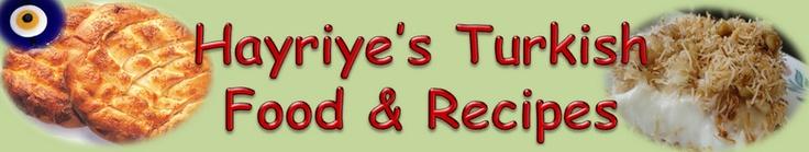 Hayriye's Turkish food & recipes
