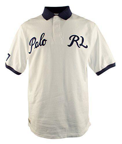 POLO RALPH LAUREN Polo Ralph Lauren Men's Big And Tall Short Sleeve Varsity Polo Shirt. #poloralphlauren #cloth #