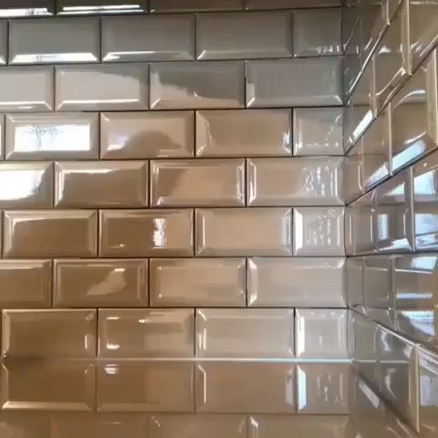Secret tile wall opening home hacks