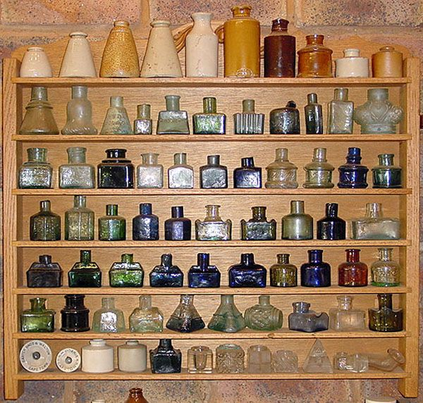 ...would love this collection for potions, lotions, and more in my space or in the common space....