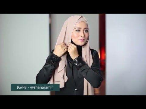 Simple Loose Chiffon Wear hijab shawl - YouTube