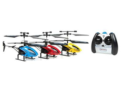 This awesome RC chopper is the perfect way to experience the thrill of flight right in your own back yard! It's ready to fly right out of the box... just lift off and enjoy being the coolest kid on the block!