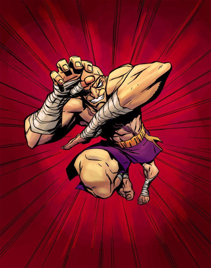 Sagat - Street Fighter - Brandon Palas