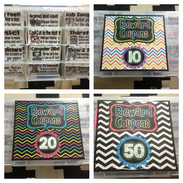 Classroom Management using reward coupons and warm fuzzies! Genius!