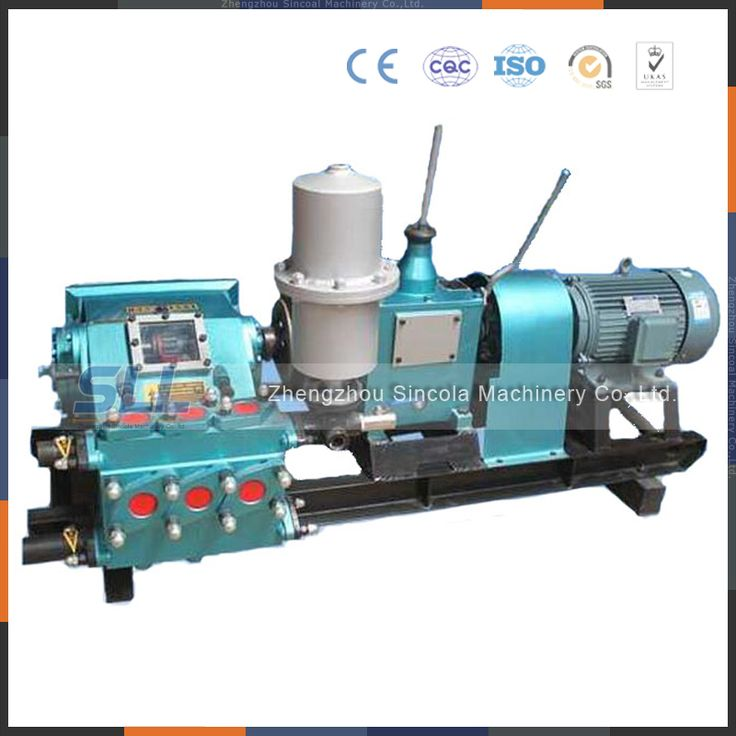 Mud grouting pump cement grout pump for sale zhengzhou sincola machinery co.,ltd.