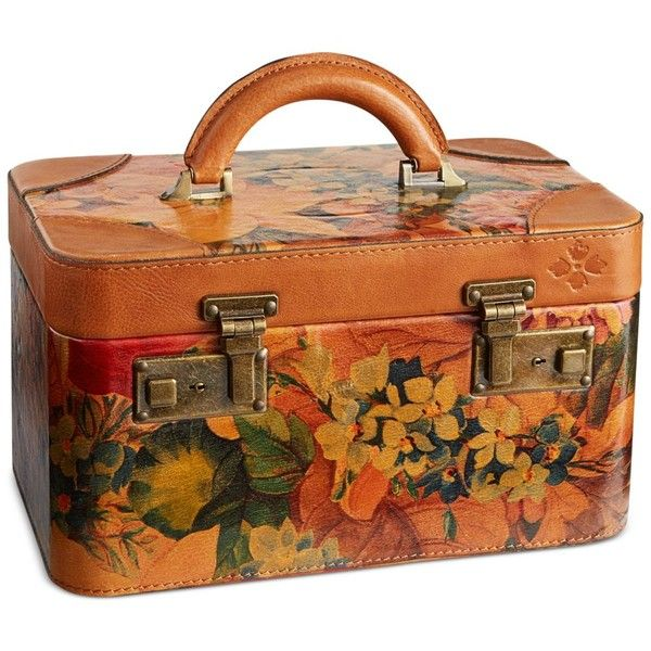 Patricia Nash Paradiso Train Case ($299) ❤ liked on Polyvore featuring beauty products, beauty accessories, bags & cases, bags, multi and patricia nash