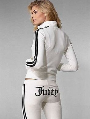 Juicy track suit! Love these. So comfy!! <3