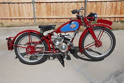 1947 Famous James Model Ml Motorcycle 125 Cc Mc English