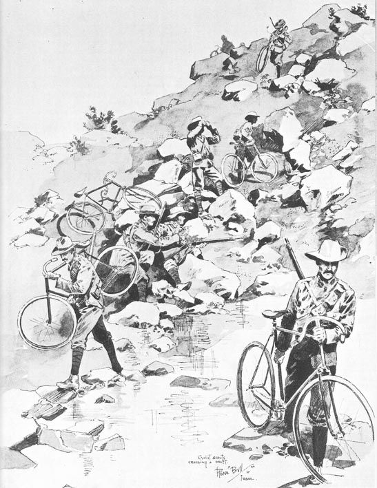 British Cyclists 2nd Boer War By Rene Bull