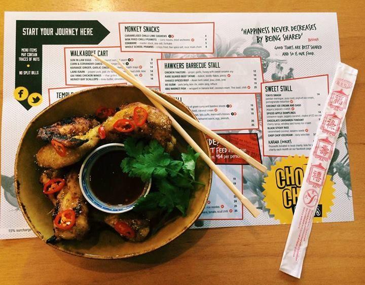 Chop Chop Chang Menu