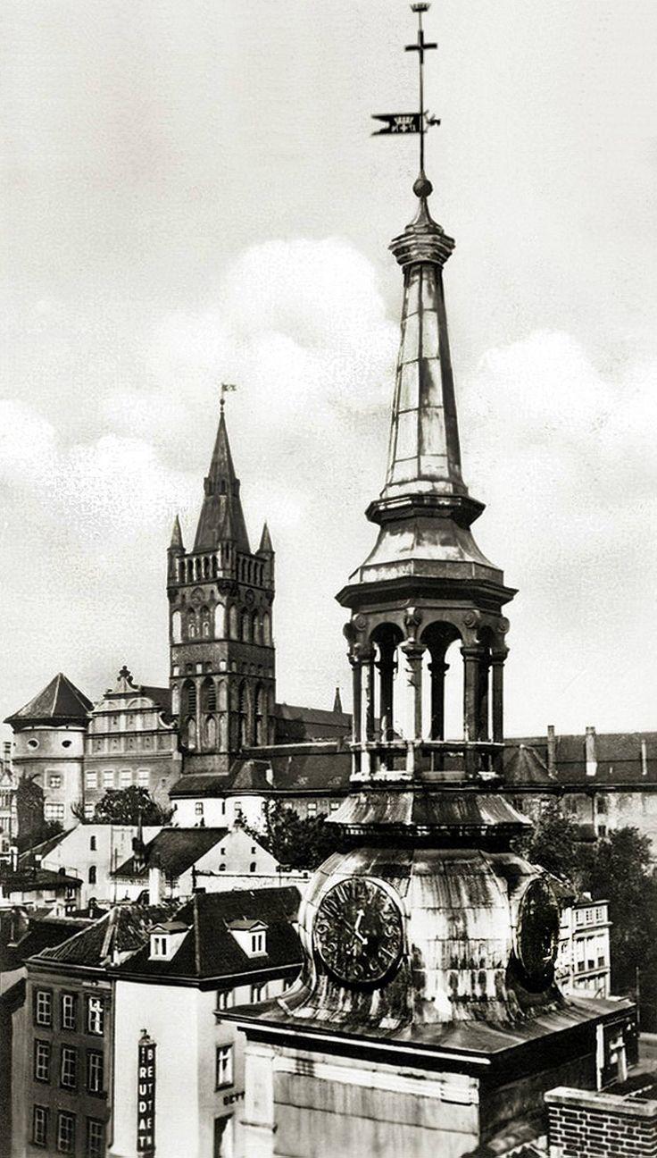 Шпиль альтштадтской ратуши