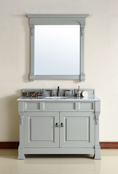 "Brookfield 48"", James Martin Urban Grey Traditional Bathroom Vanity - The Bathroom Vanity Store Canada - 48"" - 1"