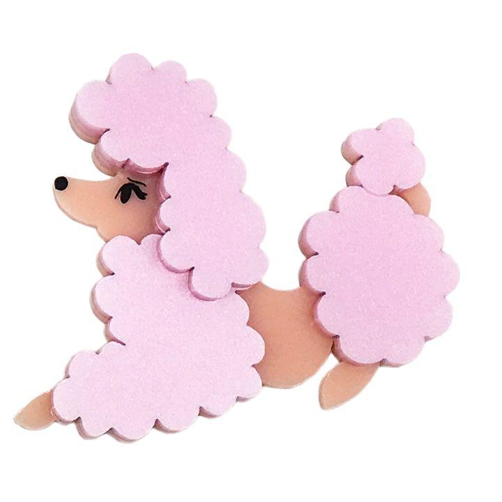 Peppy Chapette Blushing Poodle Antoinette