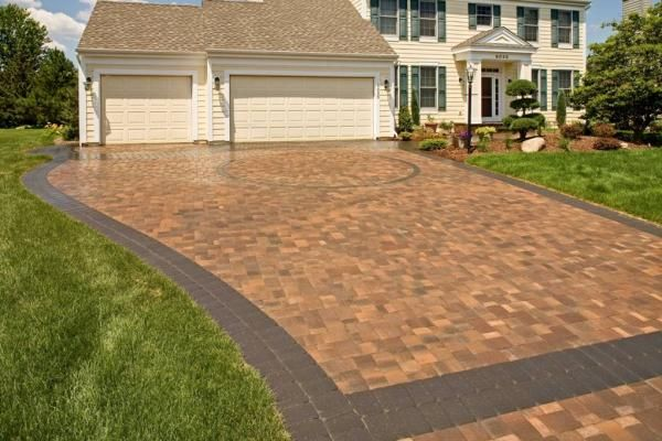Paver driveways in minneapolis st paul minnesota for New driveway ideas