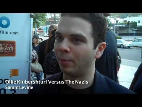 Actor Samm Levine talks about his film 'Ollie Klubershturf vs. The Nazis with Karen Worden at the HollyShorts Film Festival 2010.  For more videos and articles, please visit www.FilmCourage.com.