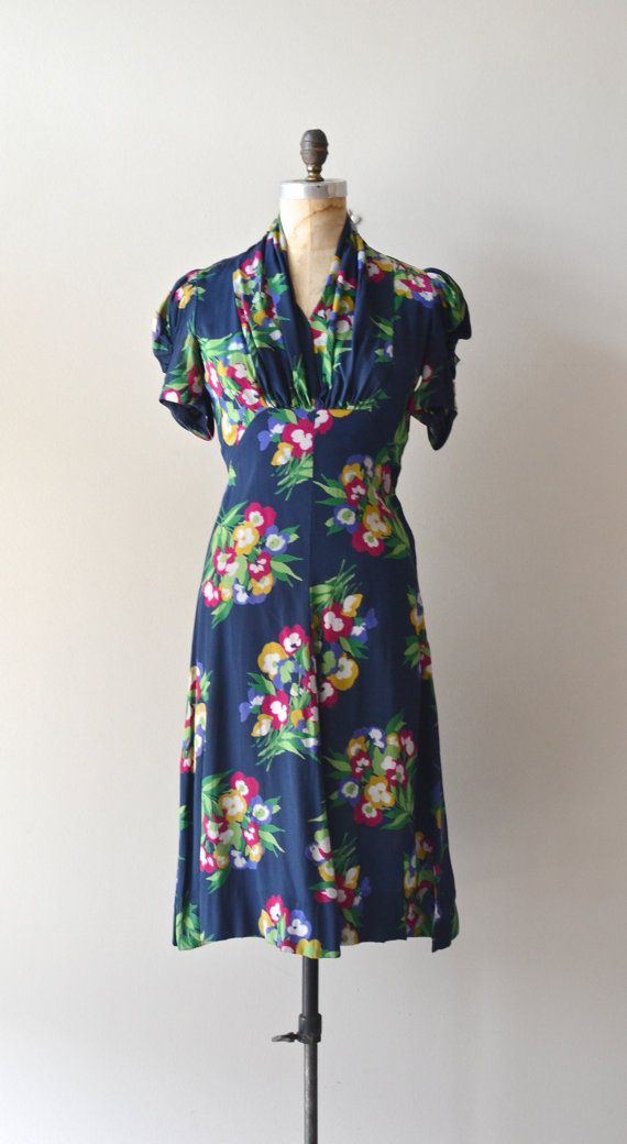 1940s Dress Silky Stars Vintage 40s Dress: 926 Best 40's Glamour.. Images On Pinterest