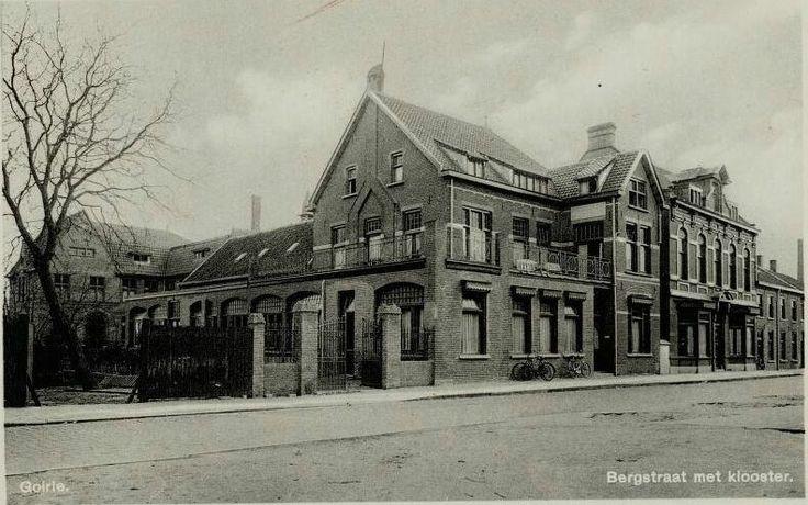 Het Elisabethgesticht aan de Bergstraat. Hier staat nu het St. Elisabeth verzorgingshuis