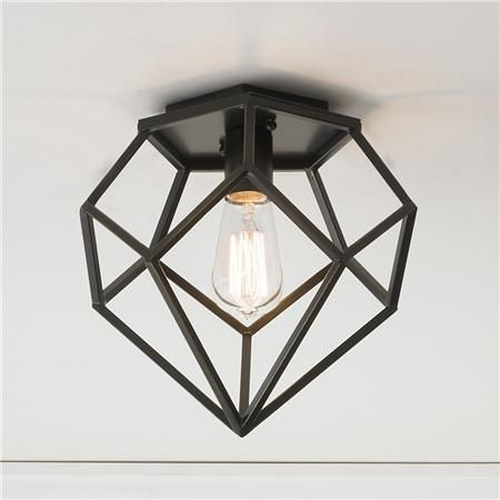 Young House Love Geometric Diamond Ceiling Light (future upgrade for hallway lights)