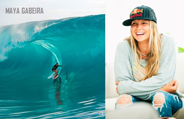 MAYA Gabeira, big wave surfer from Brazil trains at EZIA whenever she is not traveling the world chasing waves