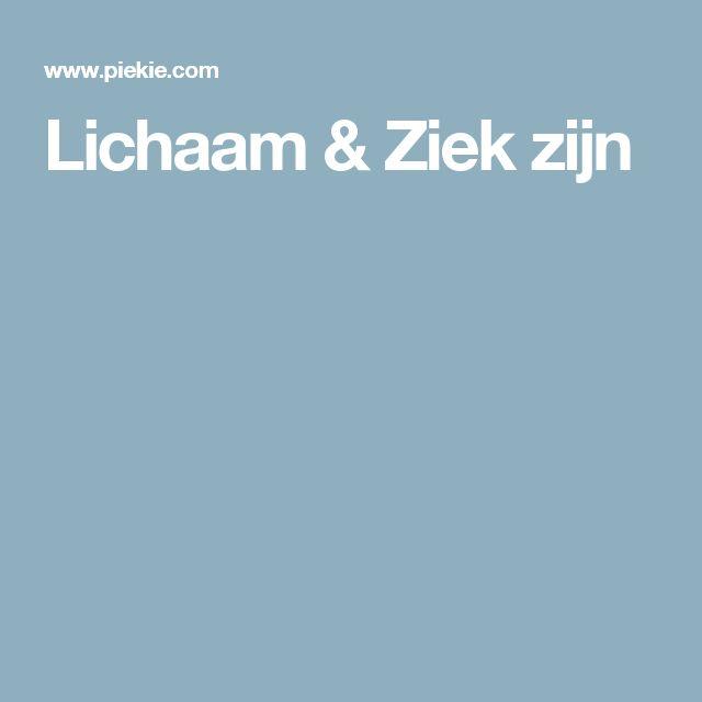 Lichaam & Ziek zijn