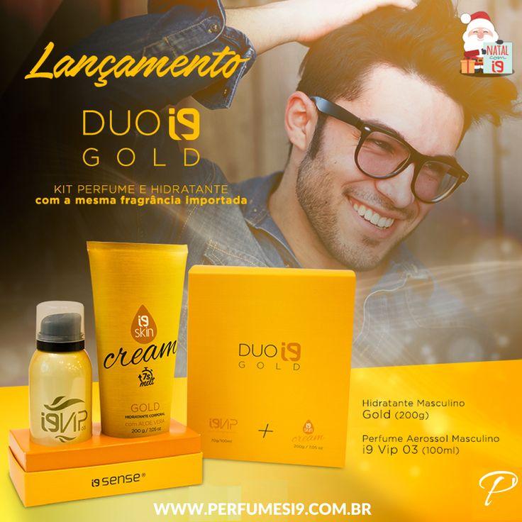 Que tal agradar aquele amigo com um super presente de Natal? O Duo Gold é um kit de Hidratante + Perfume com a mesma fragrância, inspirada no 1 Million de Paco Rabanne, ideal para homens estilosos e carismáticos. Ainda dá tempo!
