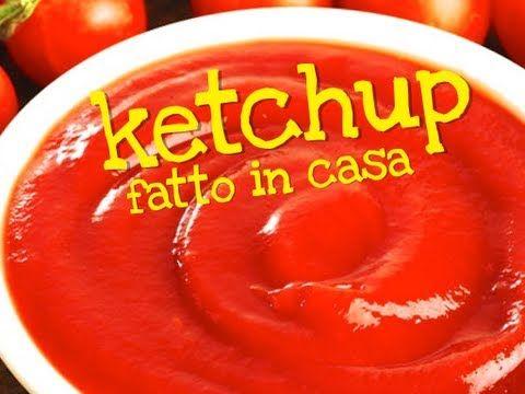 KETCHUP FATTO IN CASA DA BENEDETTA - Easy Homemade Ketchup Recipe - YouTube