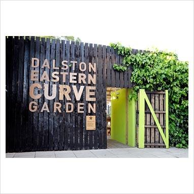 Dalston Curve Garden Signage