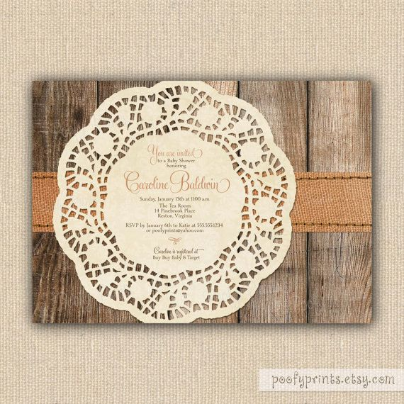 rustic baby shower invitations diy printable baby shower invitations