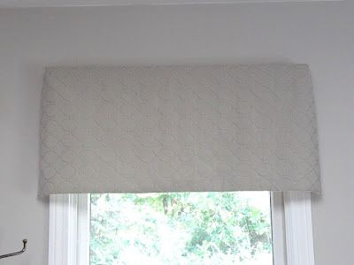 Sew Many Ways : Tool Time Tuesday Window Valance cover