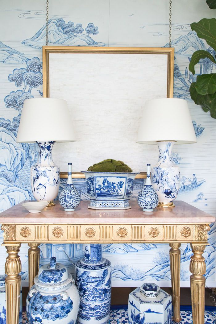 Best Blue White Rooms Images On Pinterest Blue And White
