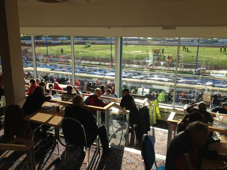 Birmingham speedway from the grandstand
