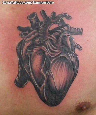 Tatuaje hecho por Damián Guerrero, de Durango (México). Si quieres ponerte en contacto con él para un tatuaje o ver más trabajos suyos visita su perfil: http://www.zonatattoos.com/kanncerbero  Si quieres ver más tatuajes de corazones visita este otro enlace: http://www.zonatattoos.com/tag/12/tatuajes-con-corazones  #Tatuajes #Tattoos #Ink #Corazones