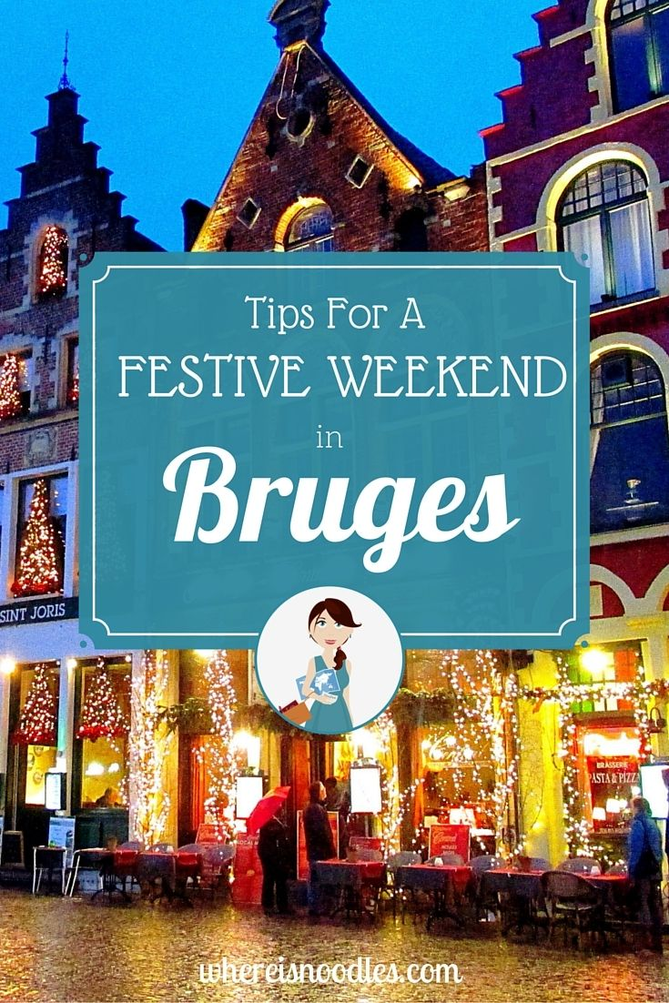 If you are looking to get in the festive mood this Christmas then spend a magical weekend in Bruges. This charming city transforms into a winter wonderland.