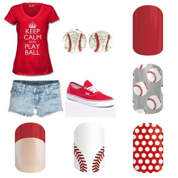 Play ball Jamberry style! Baseball nail wraps. Many other sports available as well! Www.leighannneese.jamberrynails.net
