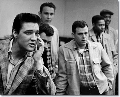 On March 24, 1958, Elvis Presley was inducted into the United States Army