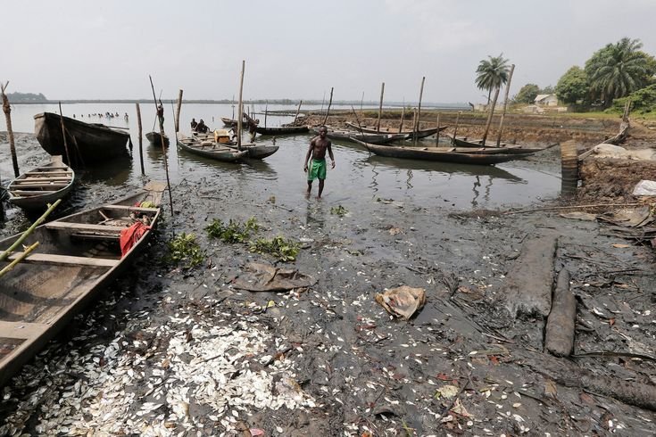 Cash Can't Fix the  #Nigeria  Village  #Ruined  by #Shell's Oil   Shell's agreement to pay the money to compensate more than 15,000 of the 69,000 Bodo residents, mostly fishermen, came after a three-year fight in a London court. The amount included 20 million pounds to develop the entire community in an area where more than 50 percent of the population live on $1 a day, according to Nigeria's statistics agency.
