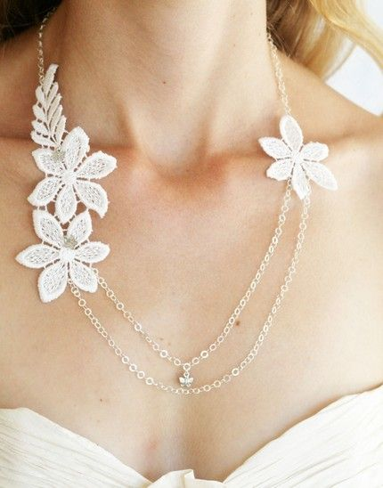 lace necklace: