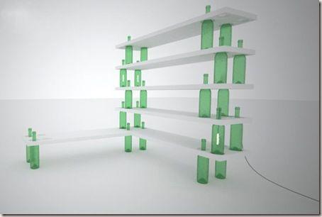 M s de 25 ideas incre bles sobre estanterias recicladas en - Estanterias para botellas ...