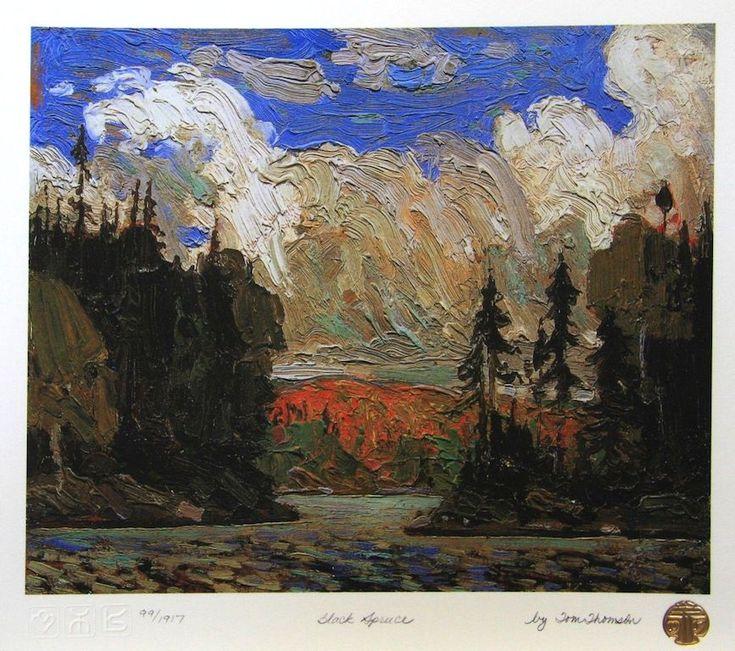 Tom Thomson Black Spruce