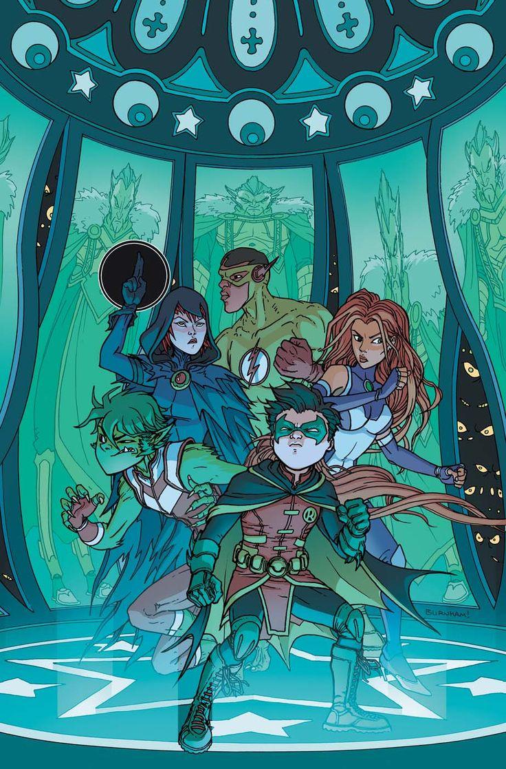 Teen Titans by Chris Burnham